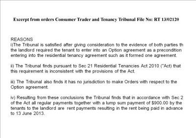 excerpt CCCT orders pments are rent